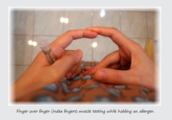 Finger Over Finger
