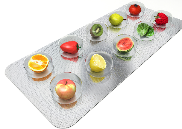 Fruits in Pill